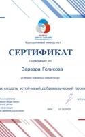 Голикова В.