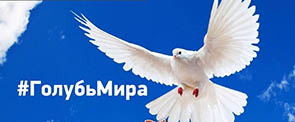 """Флешмоб РДШ """"Белый голубь"""""""